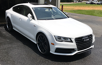 Audi and car detailing in Montgomery, AL.